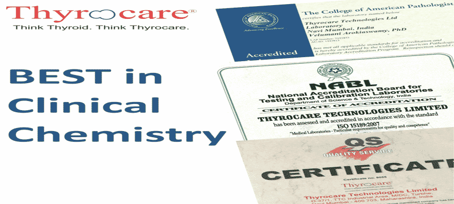 What are Quality standards in Thyrocare testing service